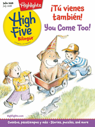 Highlights High Five Bilingue - July 2018