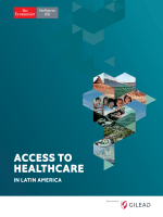 The Economist - Access to Healthcare in Latin America 2017