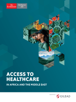 The Economist Intelligence Unit - Access to Healthcare in Africa and the Middle East 2017