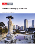 The Economist Intelligence Unit South Korea Making up for Lost Time 2017