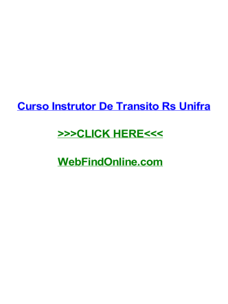 curso-instrutor-de-transito-rs-unifra