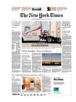 The New York Times International - 10 01 2018