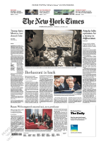 The New York Times International - 31 01 2018