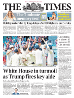 The Times 1 August 2017