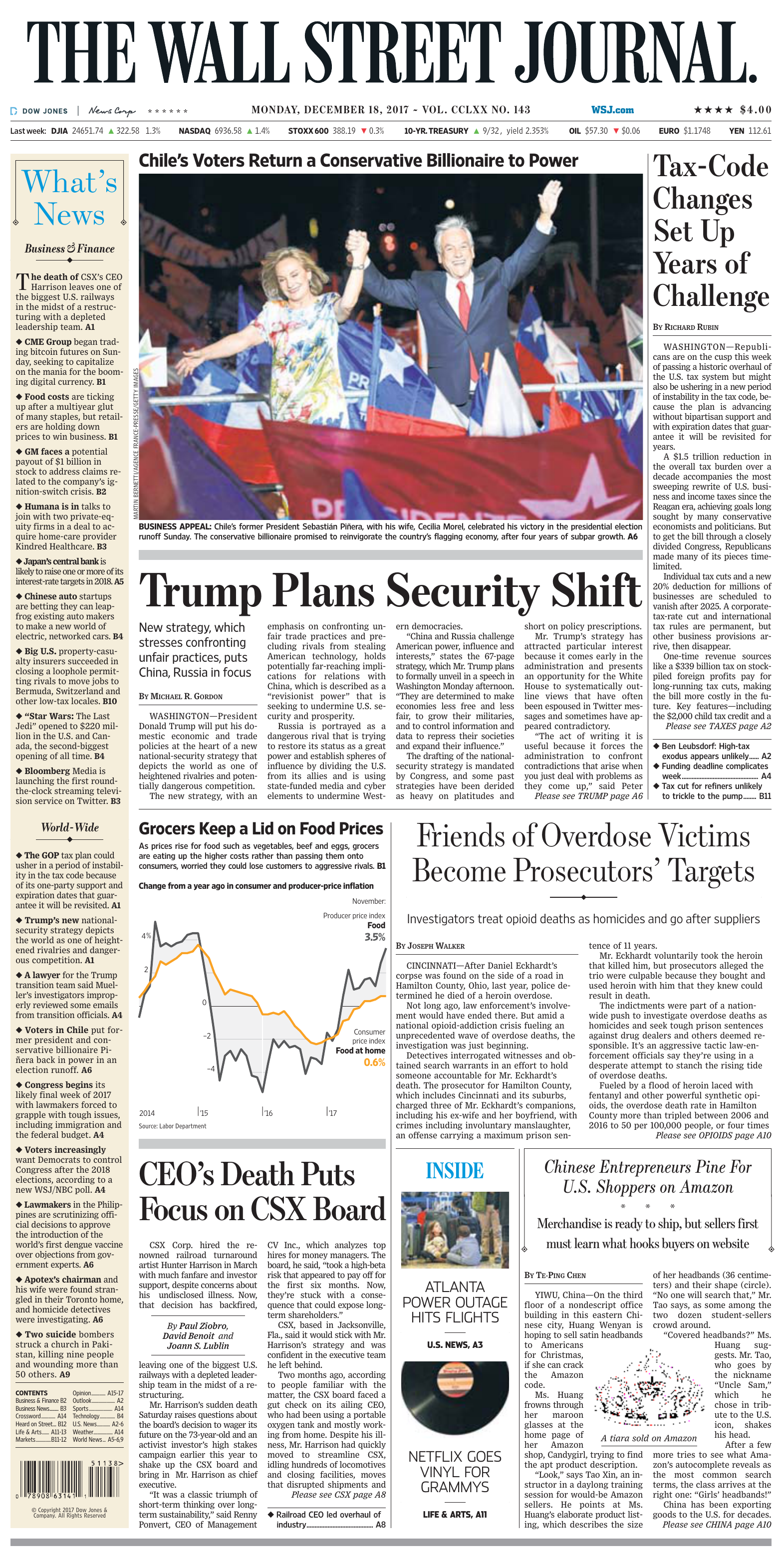 ed29543ad The Wall Street Journal - 18 12 2017