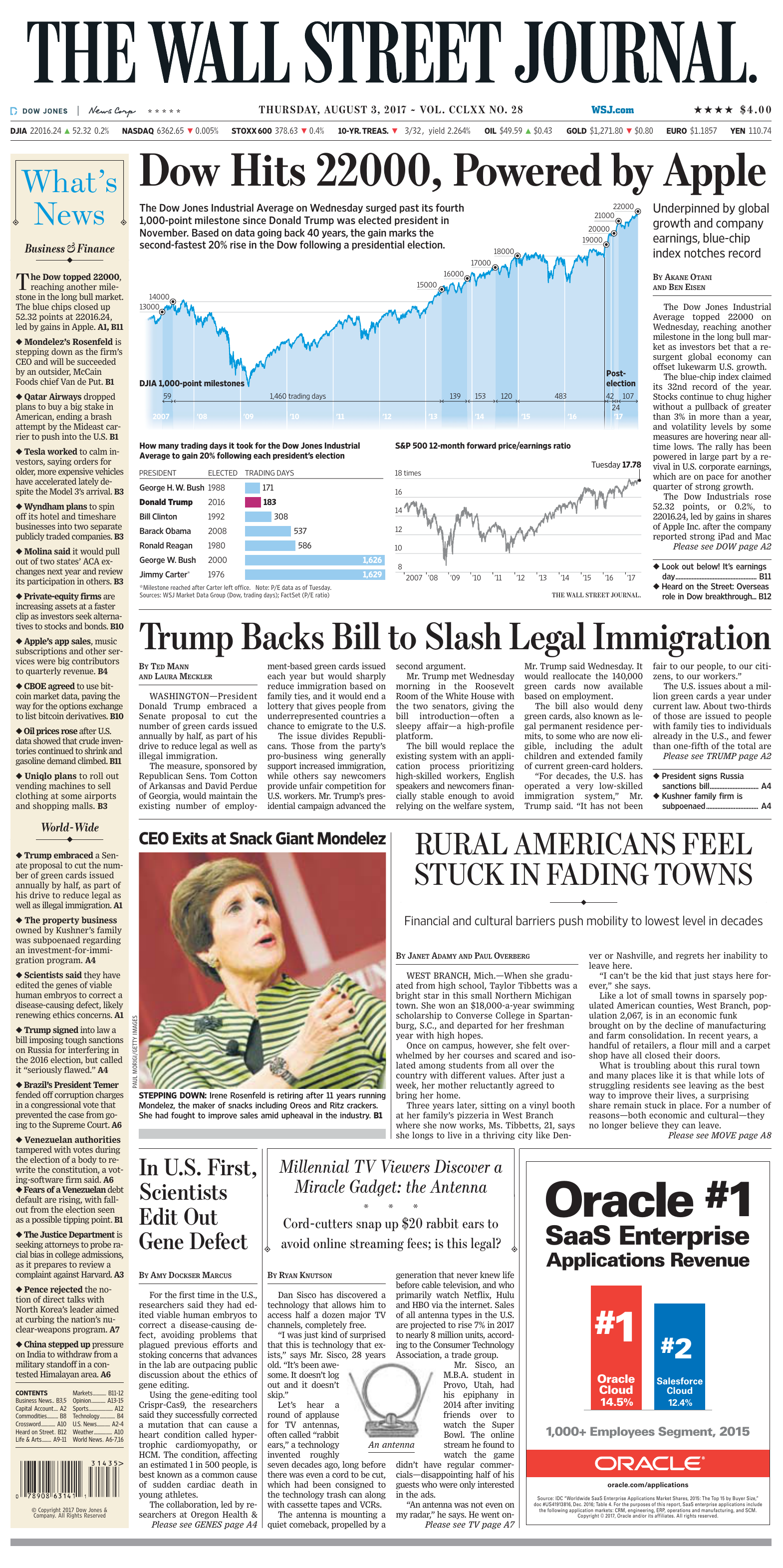 The Wall Street Journal 3 August 2017 fa532e2bc