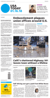 USA Today International — January 16, 2018