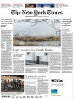 International New York Times - 3 January 2018