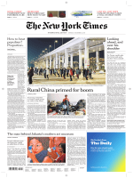 International New York Times - 4 December 2017