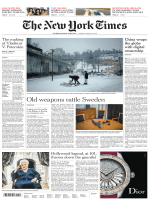 International New York Times - 06 March 2018