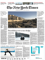 International New York Times — 8 January 2018