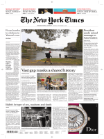 International New York Times - 13 November 2017