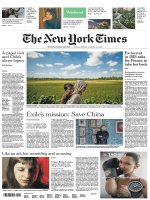 International New York Times — 13-14 January 2018
