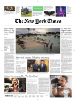 International New York Times - 18-19 November 2017