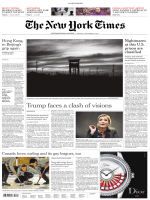 International New York Times - 14 November 2016