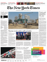International New York Times - 19 February 2018