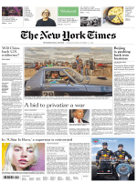 International New York Times Weekend- 6-7 October 2018