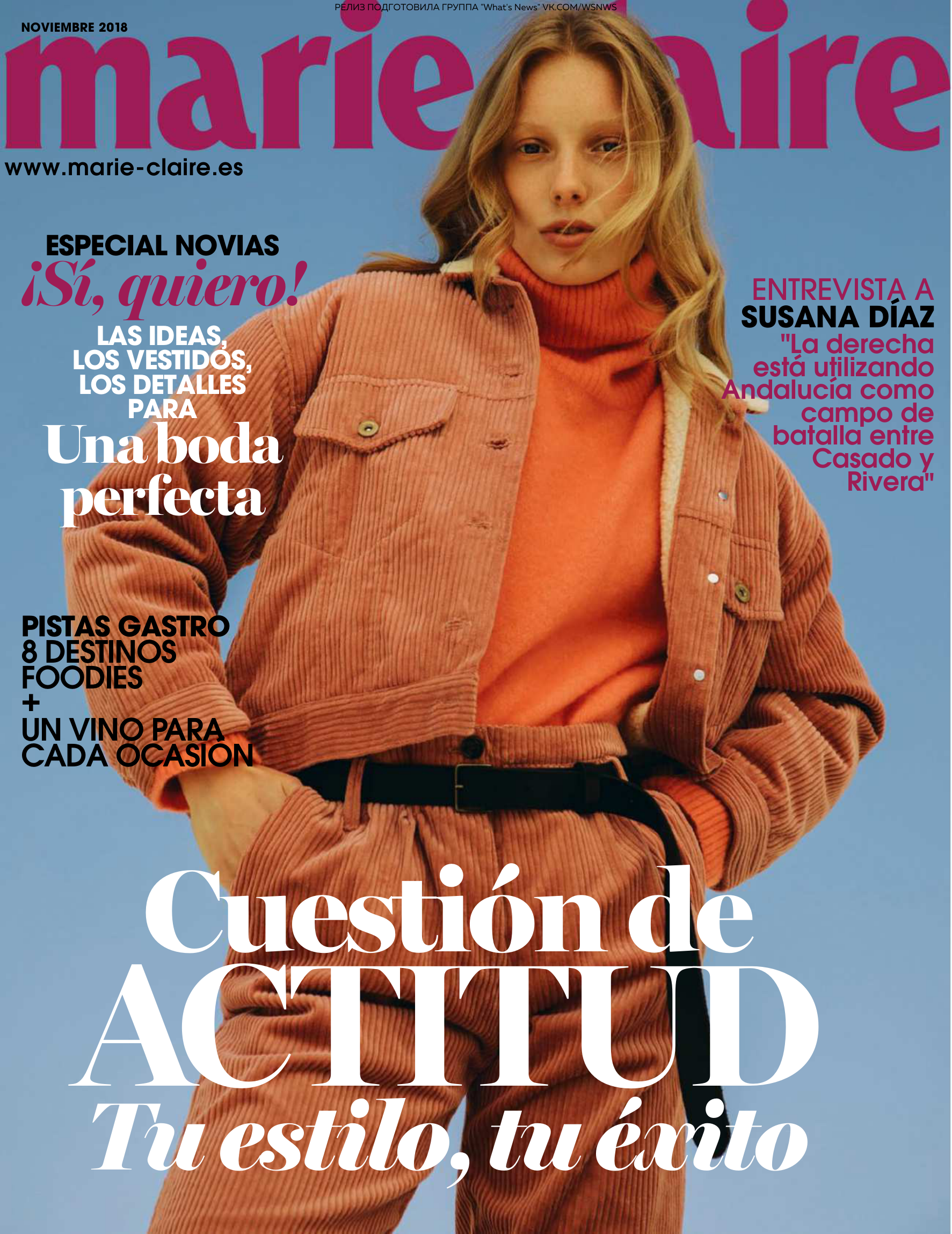 3be597f184e3 Marie Claire Spain - 11 2018
