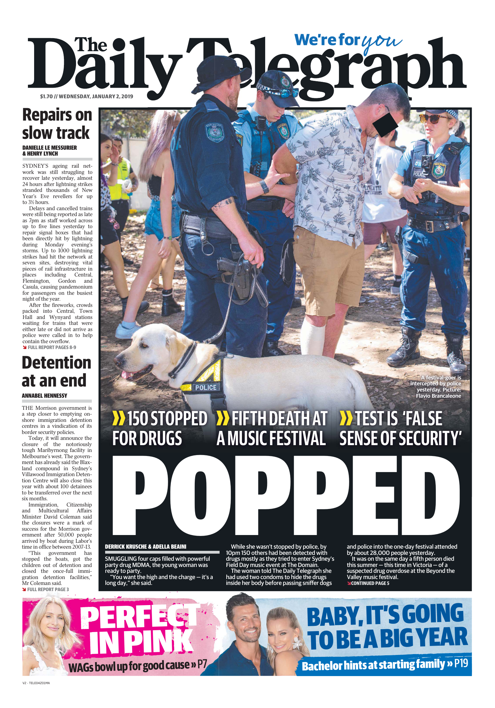 2019-01-02 The Daily Telegraph Sydney