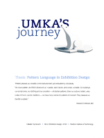 Umka's journey: Thesis: Pattern language in exhibition design