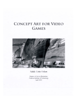 Concept art for video games