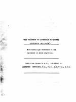 The Treatment of Diphtheria by Refined Diphtheria Antitoxin with Particular Reference to the Incidence of Serum Reactions